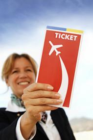 Vliegticket naar Malaga