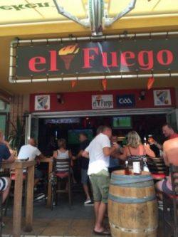 Bar El Fuego Nerja Nederlandse voetbalwedstrijden