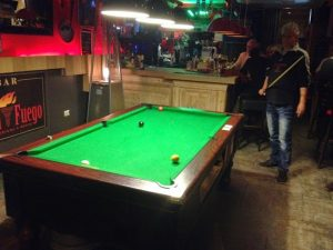 Bar El Fuego Nerja Poolbiljart en Darts