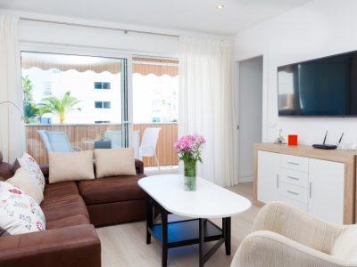 Appartement Casa Cuatro Caminos woonkamer