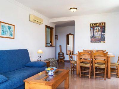 Appartement La Tabera woonkamer