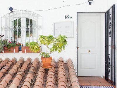 Casa Yrina ingang Strandhuys Appartementen Nerja