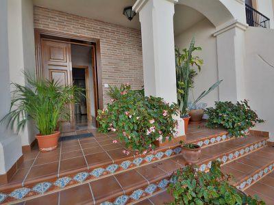 Villa vakantiehuis Jara Nerja Spanje entree