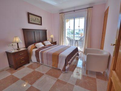Villa vakantiehuis Jara Nerja Spanje slaapkamer 1