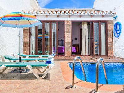 Vakantiehuis Casa Concha in Nerja met zwembad