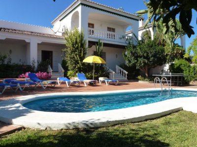 Vakantiehuis Villa Angeles in nerja met zwembad