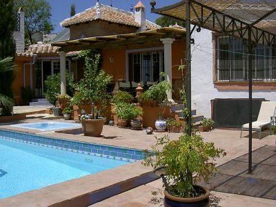 Vakantiehuis Villa Cecilia nerja spanje met zwembad