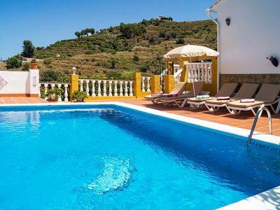 Vakantiehuis Villa Grillo in Nerja met zwembad