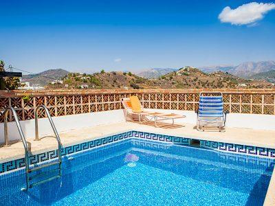 Vakantiehuis Villa Laura nerja met zwembad