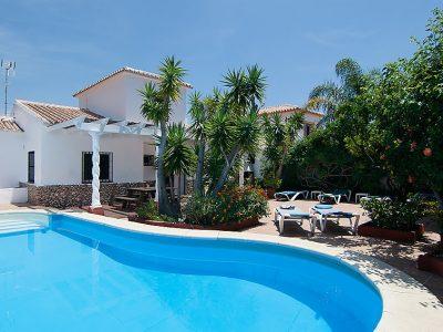 Vakantiehuis Villa Romeral nerja met een zwembad